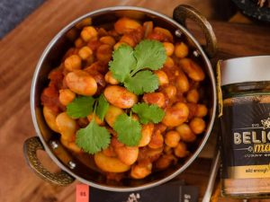 5 Minute Bean Curry