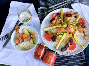 Harissa Marinated Drumsticks Recipe